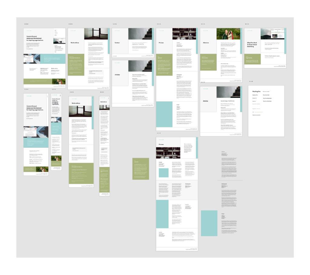 Image of the Adobe XD wordspace